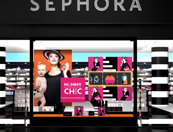 Sephora show window design 2016 – 2