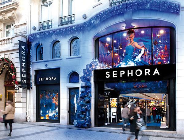 Sephora Flagship Christmas 2009